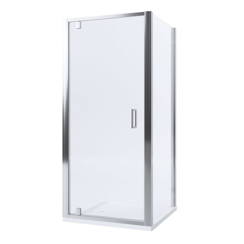 Mira Leap Square Pivot Shower Enclosure Rectangular Shower Enclosures Shower Enclosure Compact Bathroom