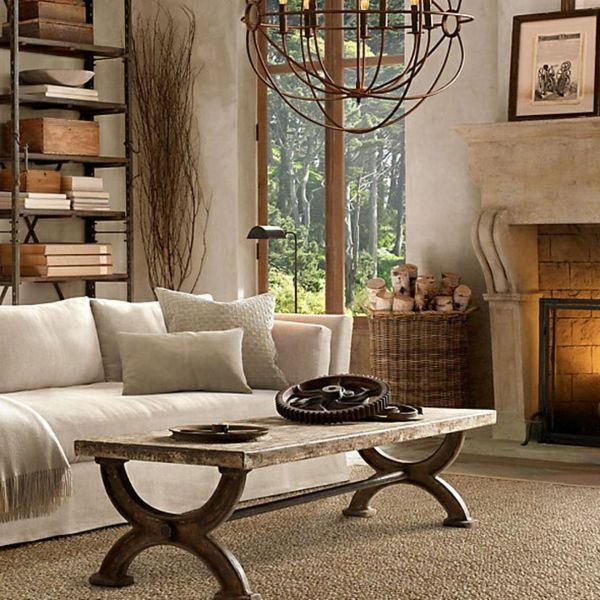 awesome wohnzimmer rustikal gestalten ideas - ghostwire.us ... - Wohnzimmer Rustikal Gestalten