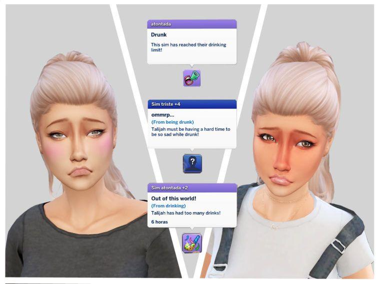 Mod Slice Of Life Kawaii Stacie Simlish 4 Sims 4 Sims Kawaii
