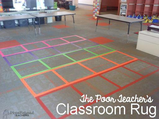 the poor classroom rug