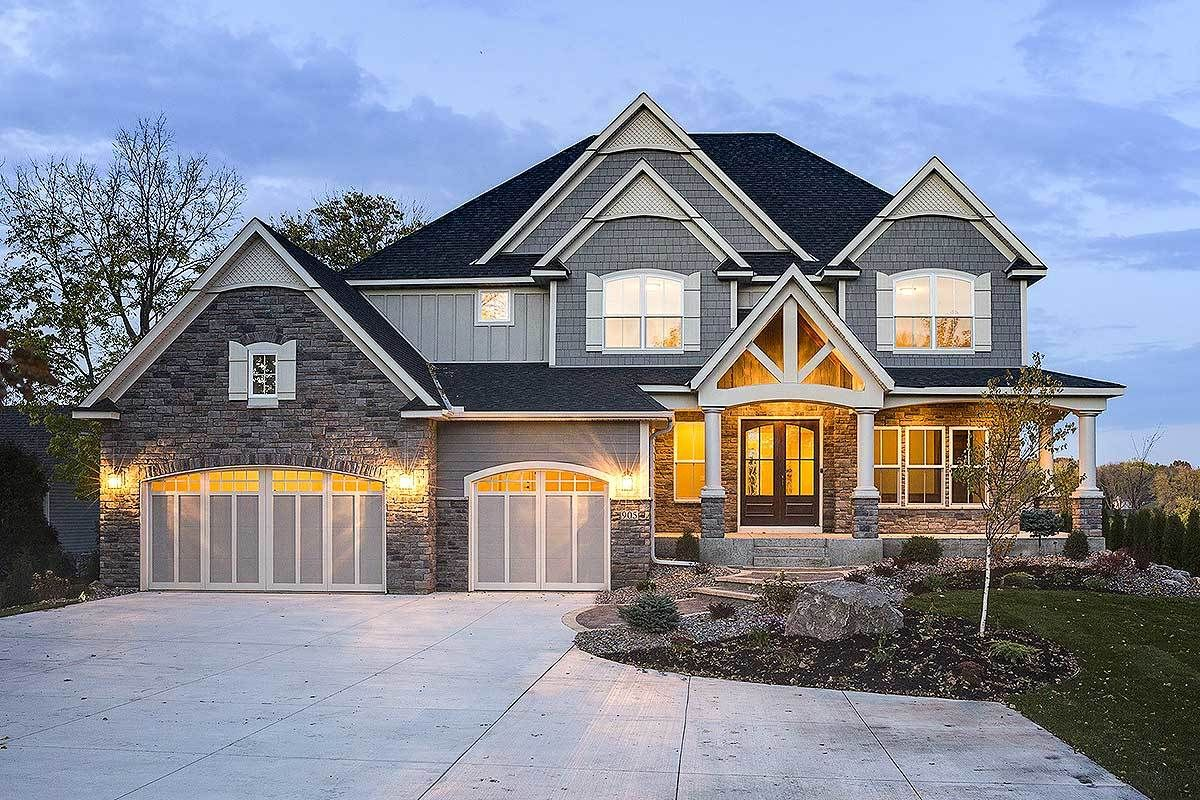 Plan 73377hs Modern Storybook Craftsman House Plan With 2 Story