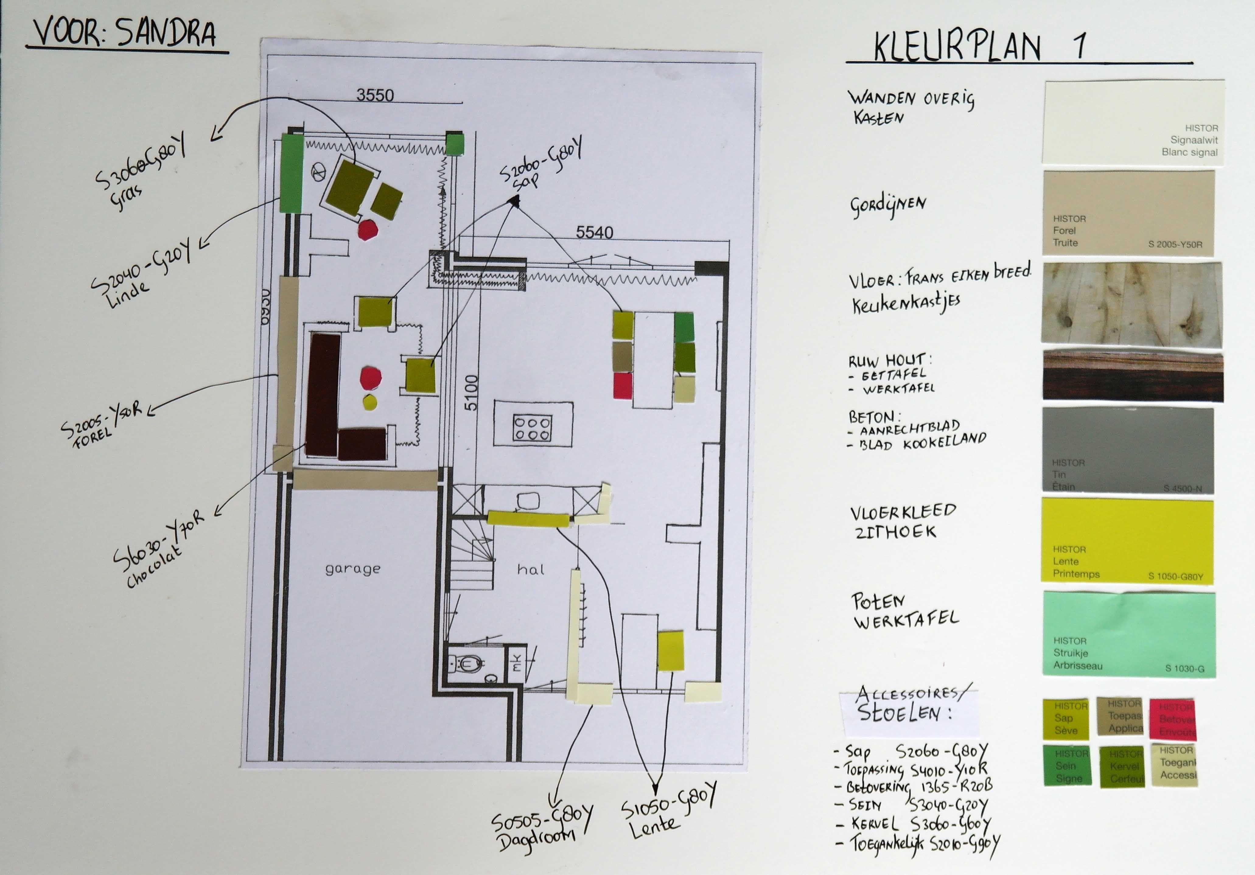 Voorbeeld Lichtplan Woonkamer : De opdracht was een nieuwe indeling voor woonkamer keuken en