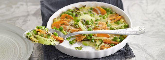 Bunter Gemüse-Auflauf | Vegetarische Gerichte zum Abnehmen von Almased