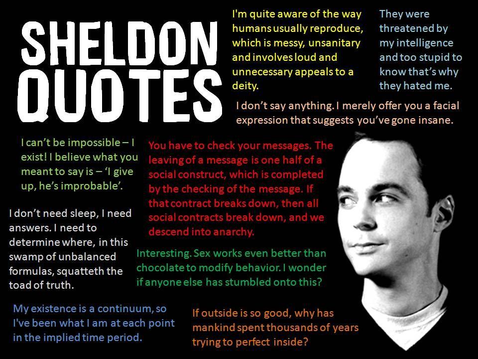 Bazinga!  Sheldon makes me laugh :)