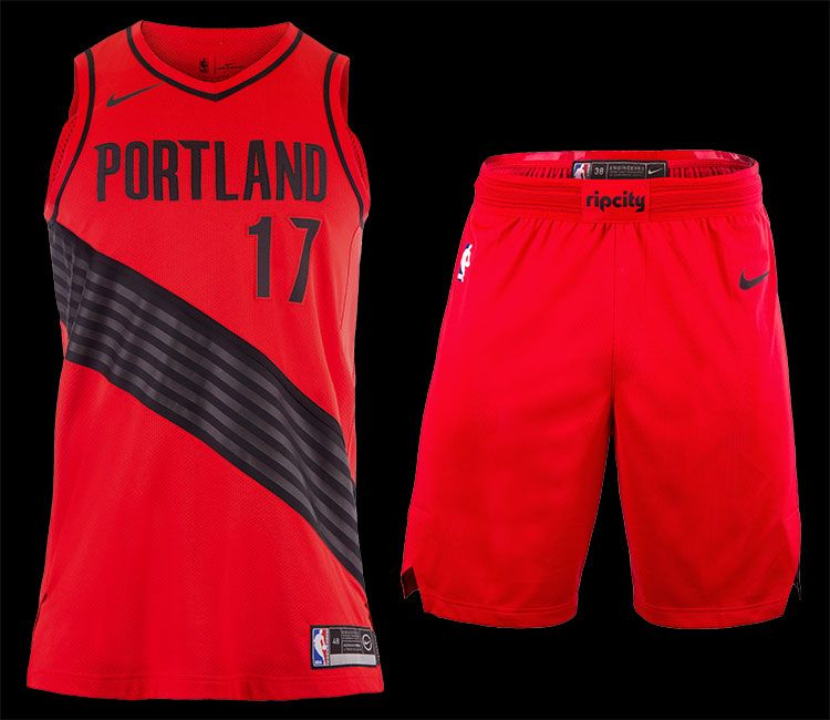 Nike Portland Trail Blazers Statement uniform 2017-2018