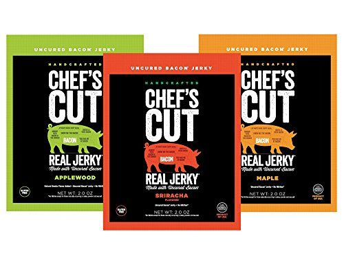 Chefs Cut Real Bacon Jerky Variety Pack -- Continue to the product at the image link.