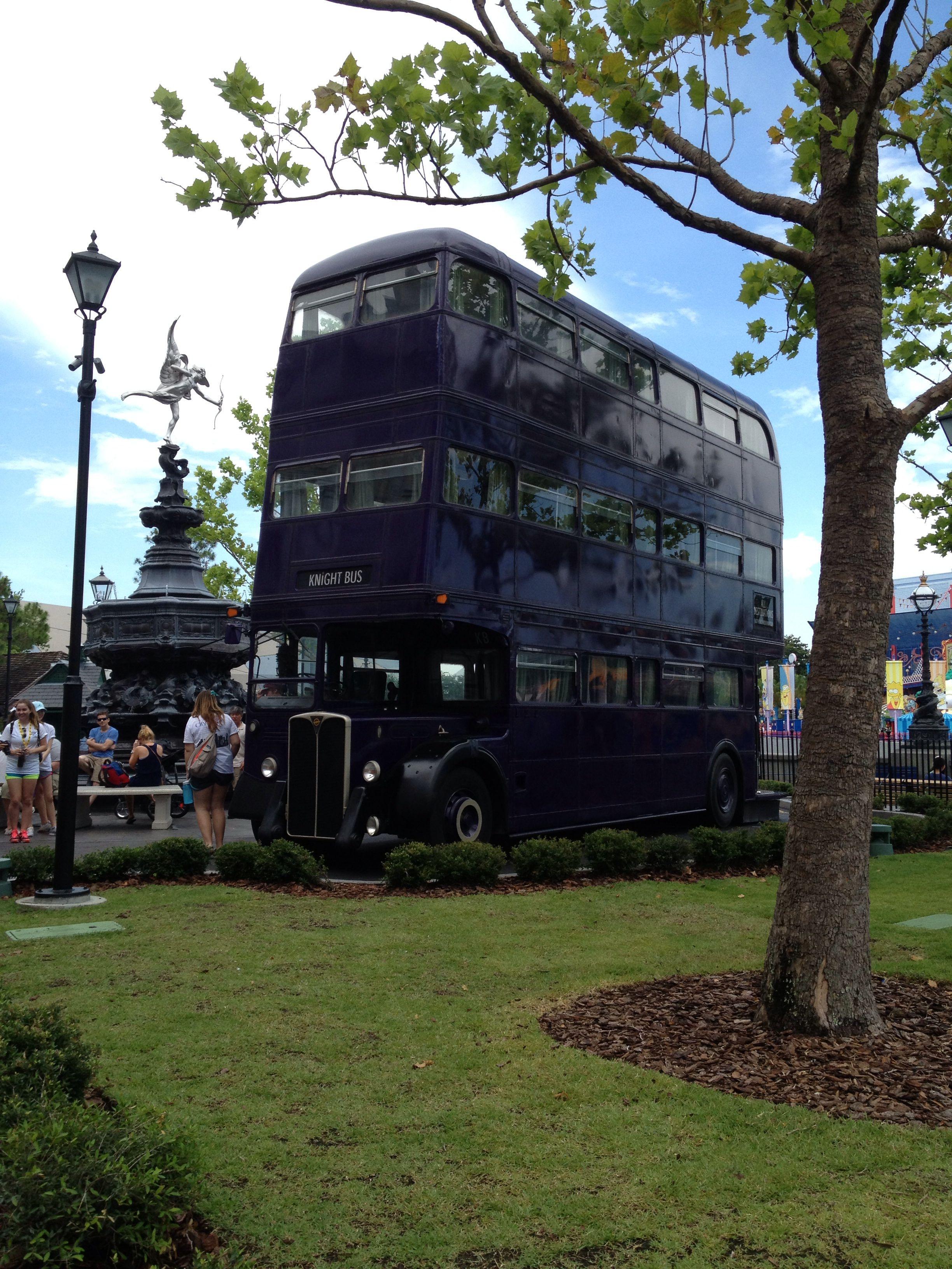 Universal Studios ~ Island of Adventure! Knight bus