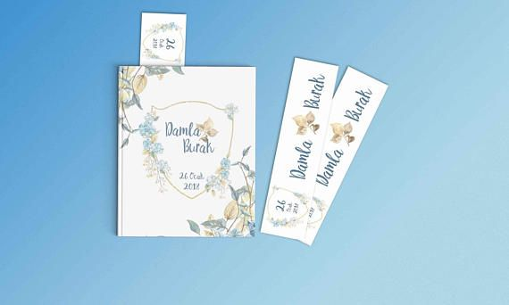 Floral Wedding Invitation Set Invitation Card Welcome Banner