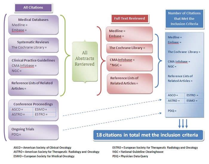 Flow Diagram Of Literature Results From Search Strategy