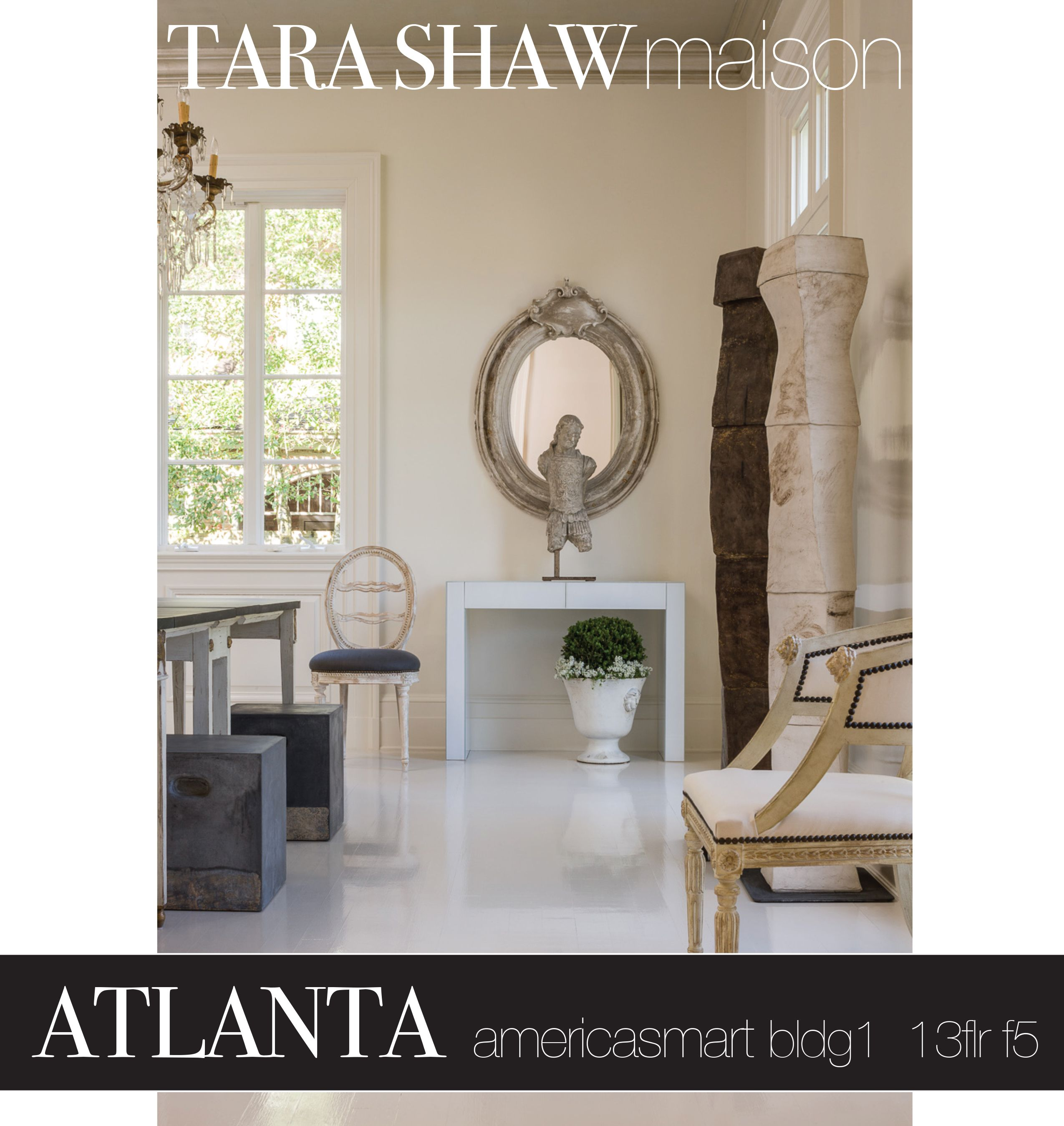 We are so excited to be returning to Atlanta market. Please join us July 10-17, Americasmart Building 1, 13th Floor #F5