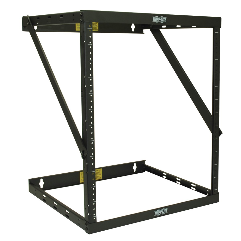 Tripp Lite 8u 12u 22u Expandable Wall Mount 2 Post Open Frame Rack Adjustable Network Equipment Rack Wall Mount Rack Open Frame Tripp Lite