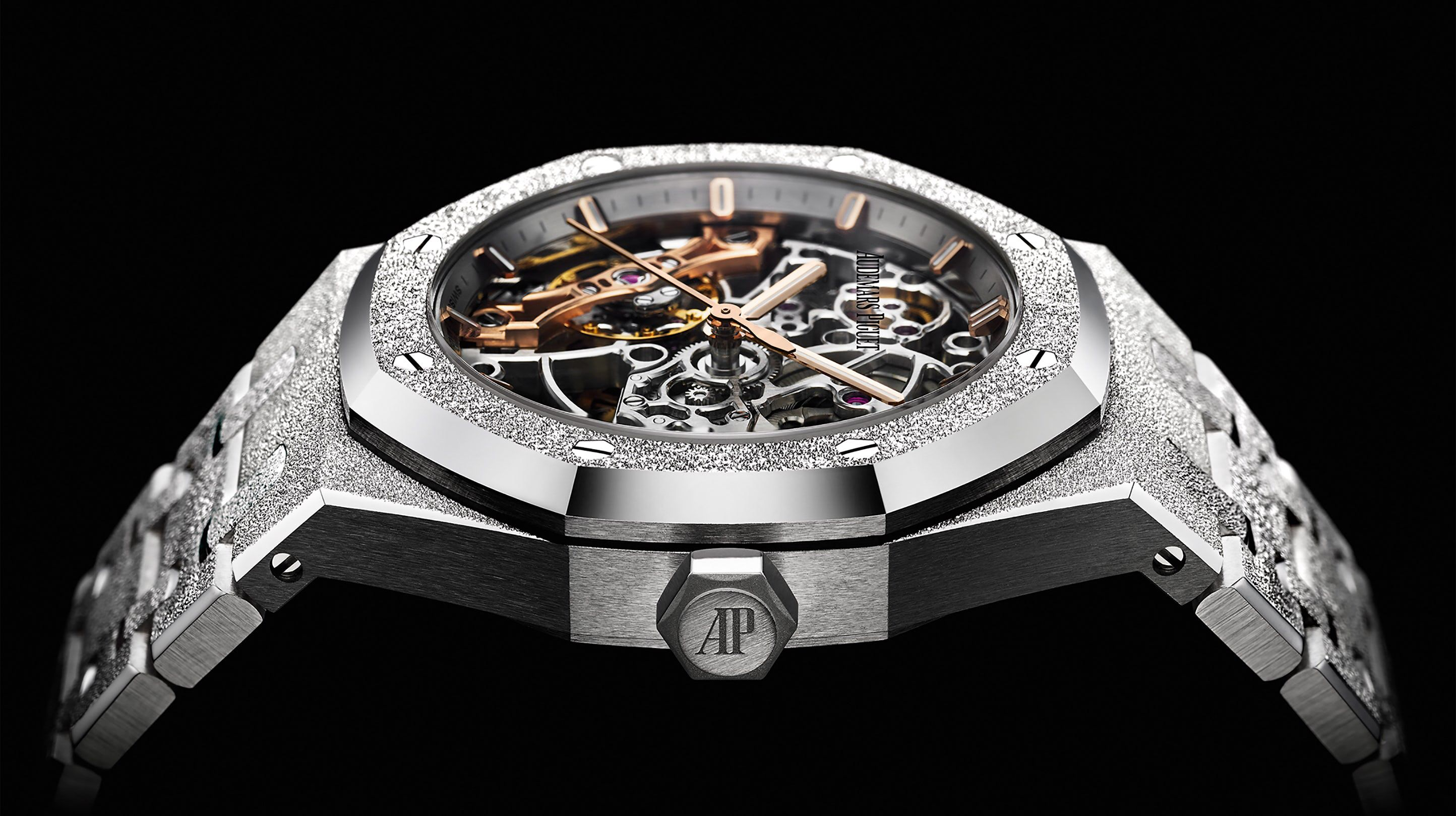 Introducing The Audemars Piguet Frosted Gold Royal Oak Double