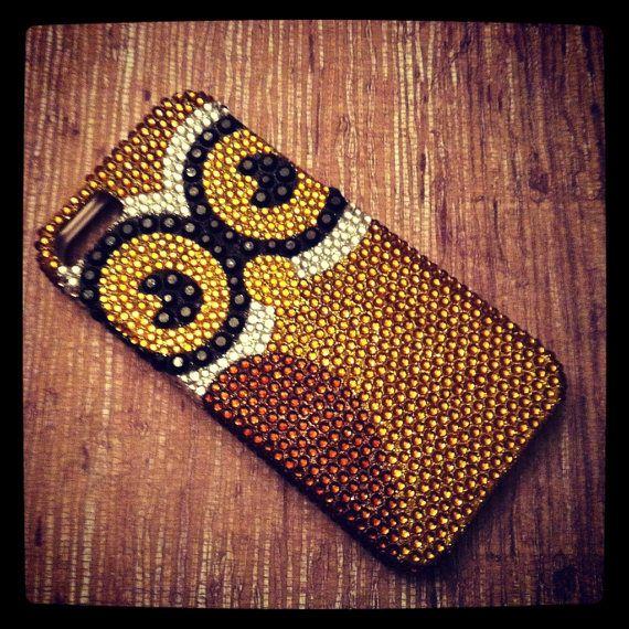 iPhone 5 Art Deco Sparkling Owl Bling Rhinestone case. $22.98, via Etsy.