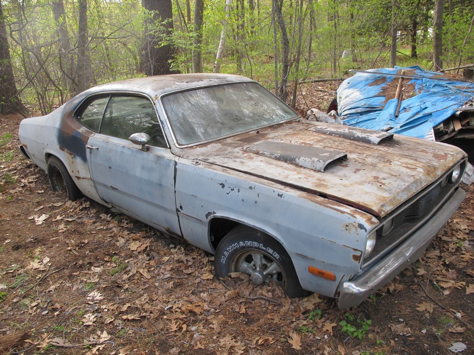 1974 Plymouth Duster 360 Plymouth Duster Junkyard Cars Abandoned Cars