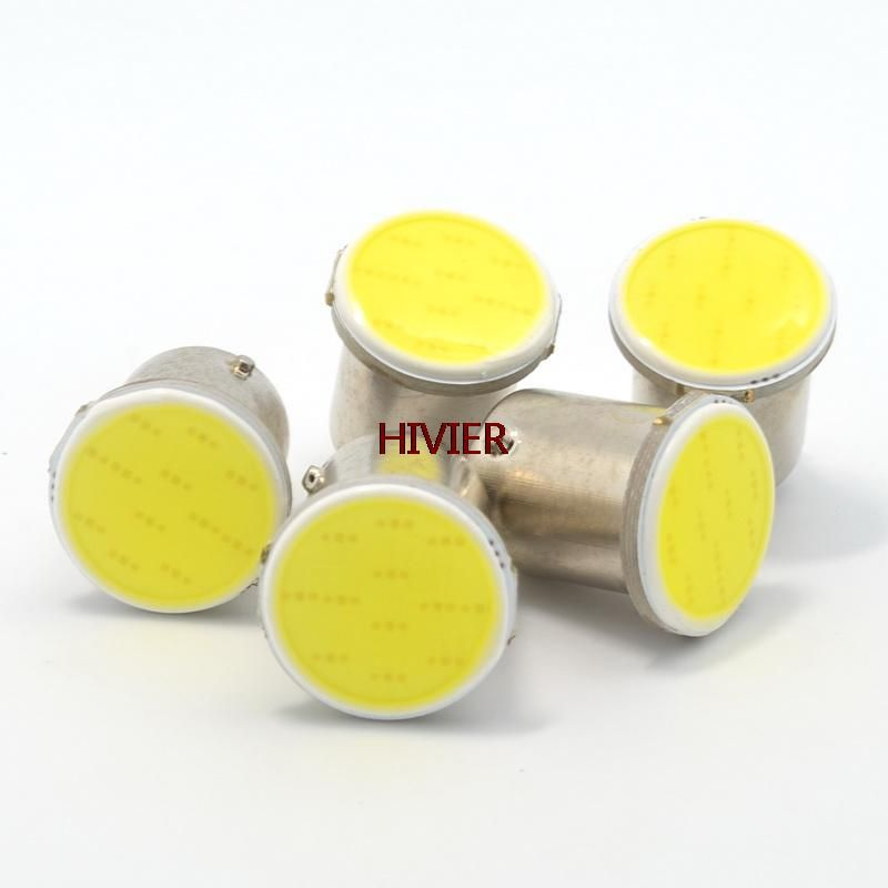 Atacado New White 10 Pcs Cob 12smd 12led 1156 1157 Ba15s P21w 12 V Lampadas Rv Reboque Do Caminhao Luz Estilo Do Carro De Estaciona Bulb Rv Trailers Car Lights