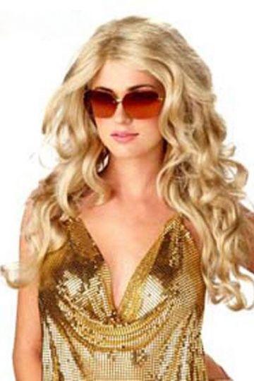 Fashion Long Blond Party Wig Long Hair Wigs Cheap
