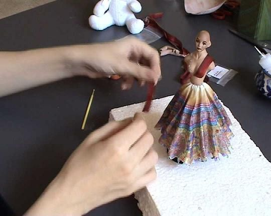 Magic Miniatures - Tutorials how to make Indian Doll start