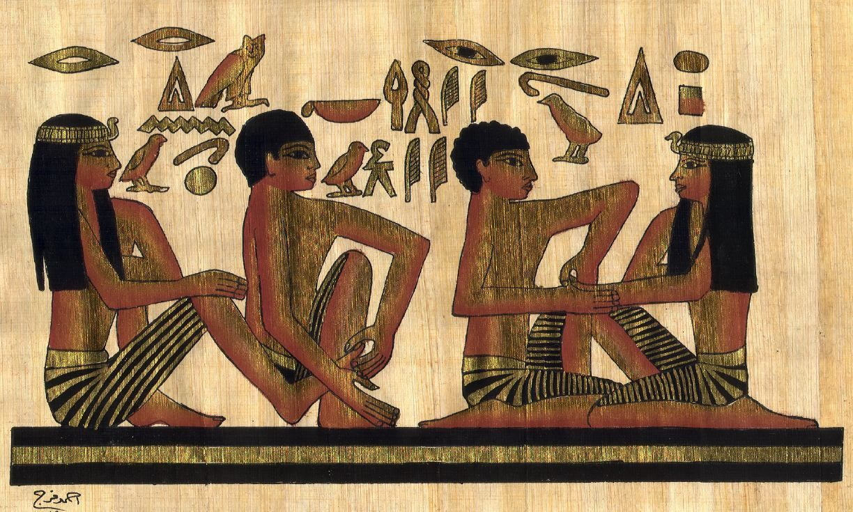 Reflexology in ancient Egypt! | Egypt my homeland