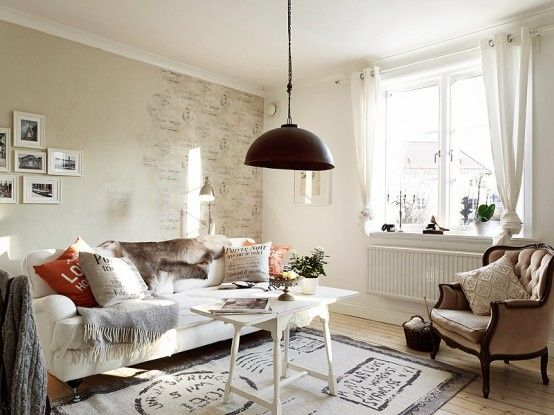 Romantic Stockholm Apartment Shabby Chic Touches