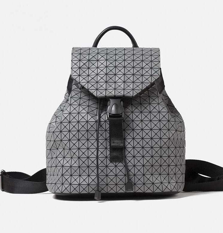 Vintage 2017 women backpack school bag laser Geometric backpack ...