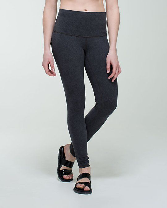 b9fe33070 Wunder Under Pant Roll Down Cotton (Heathered Black)