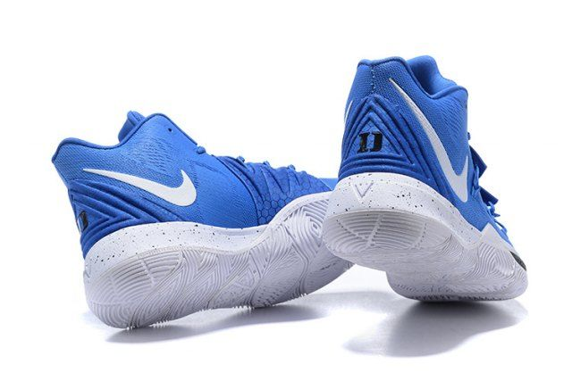 9edd4018238 Nike Kyrie 5 Duke Blue Devils PE Men s Basketball Shoes Irving Sneakers