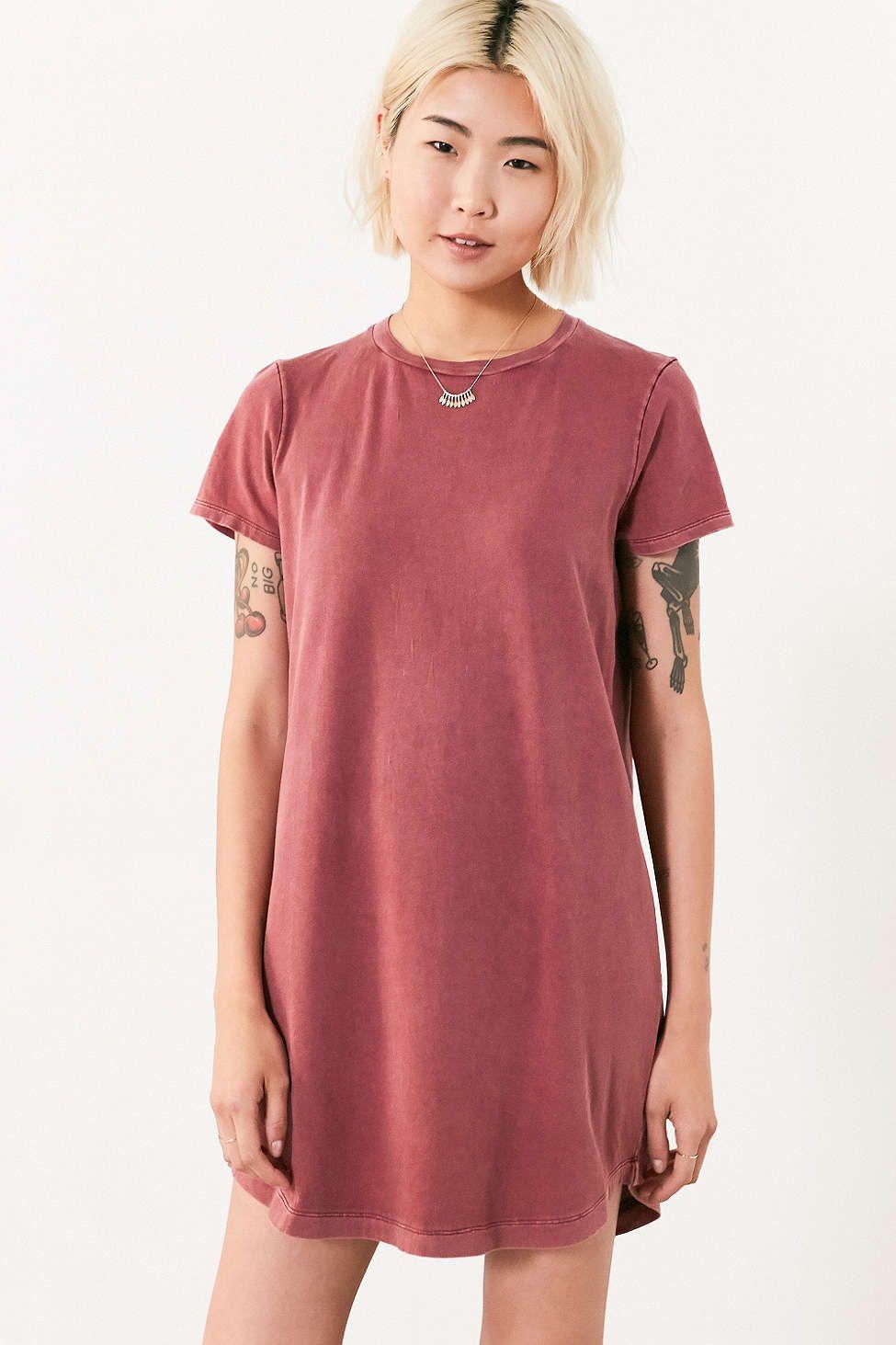 Bdg morisette tshirt dress girly clothing and fashion