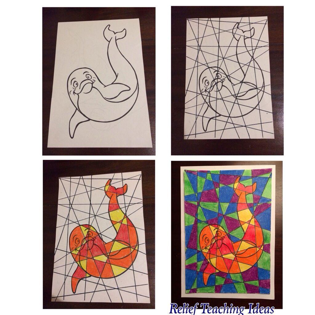 Coloriage relief quadrillage coloriages pinterest quadrillage relief et coloriage - Coloriage relief ...