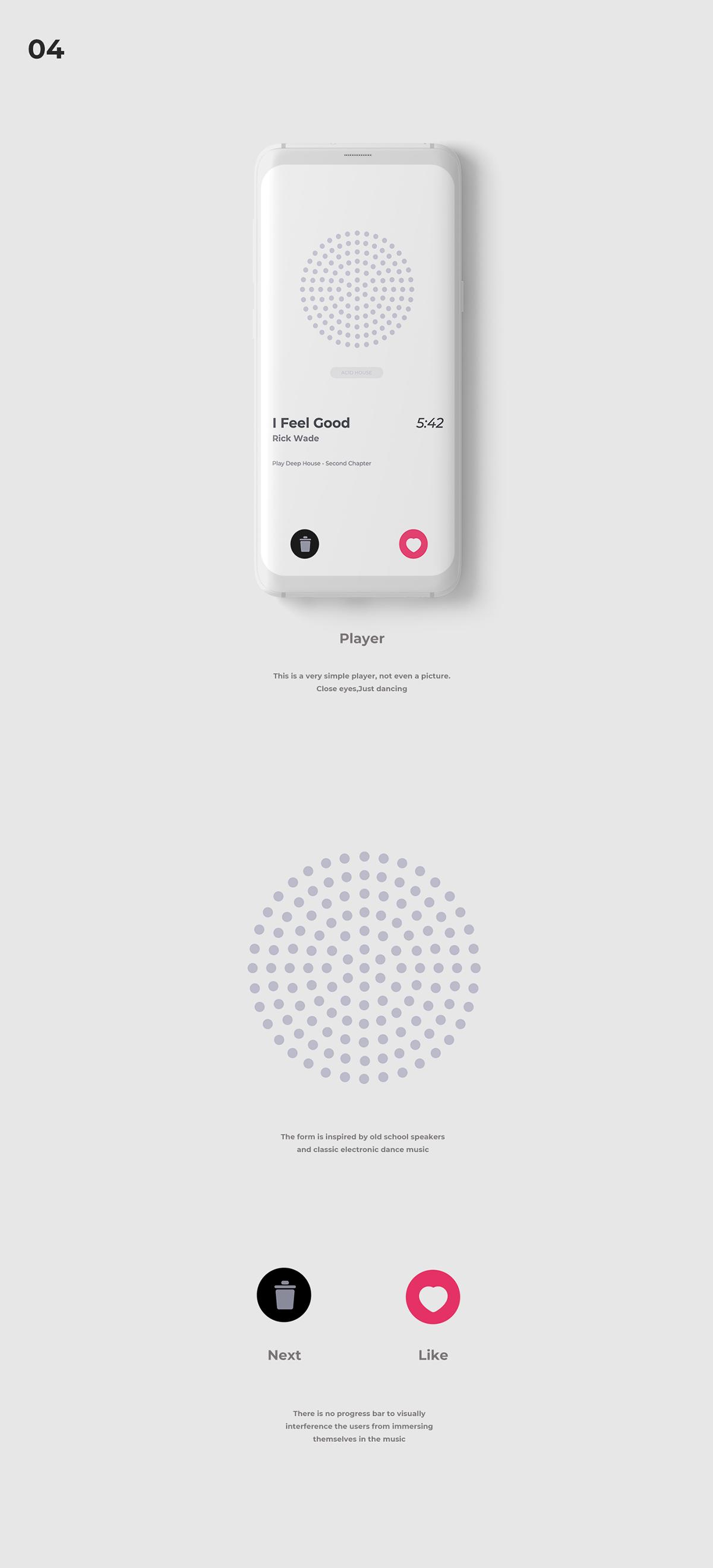 WAVE ON AIR/A MUSIC APP on Behance | UI | Music app, App ui