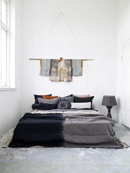 Beautifully arranged bed  -  Amazing Bedroom Ideas