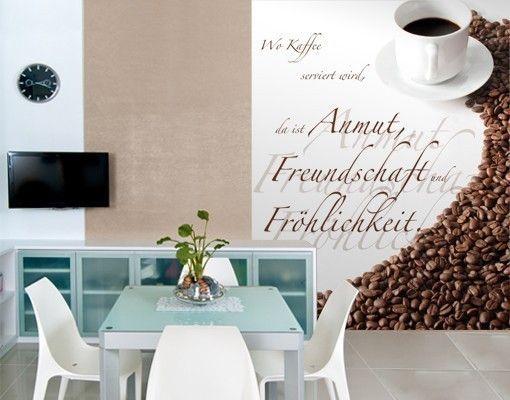 Fototapete Kaffee & Freundschaft | falakra | Pinterest ...