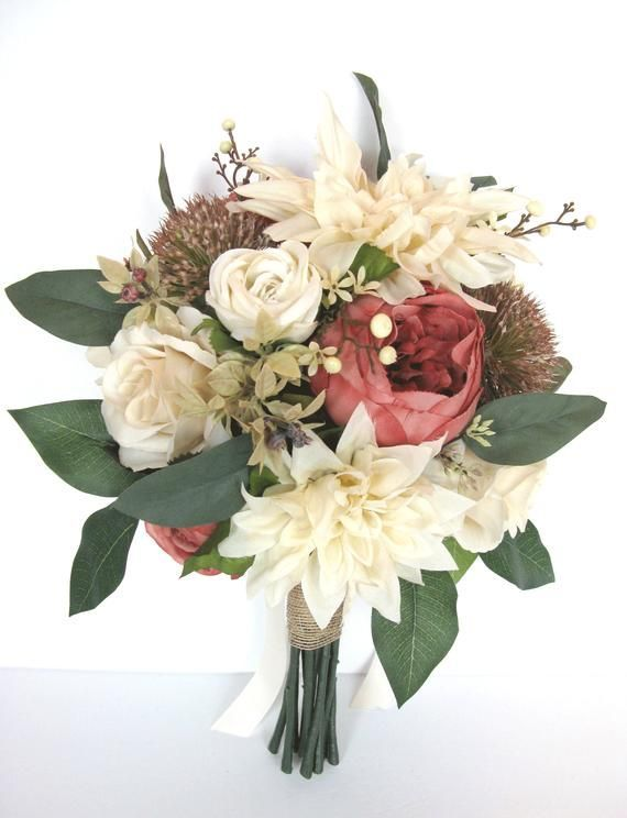 Wedding Bridal Bouquet 17 Piece flower set RUST CHAMPAGNE Vanilla CREAM Beige Wedding Silk Bridal Fl #silkbridalbouquet Wedding Bridal Bouquet 17 Piece flower set RUST CHAMPAGNE Vanilla CREAM Beige Wedding Silk Bridal Fl #silkbridalbouquet