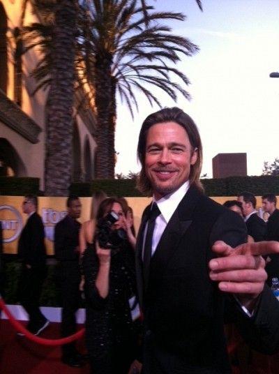 Brad Pitt Sag Red Carpet Lori Julia Mytalk 107 1