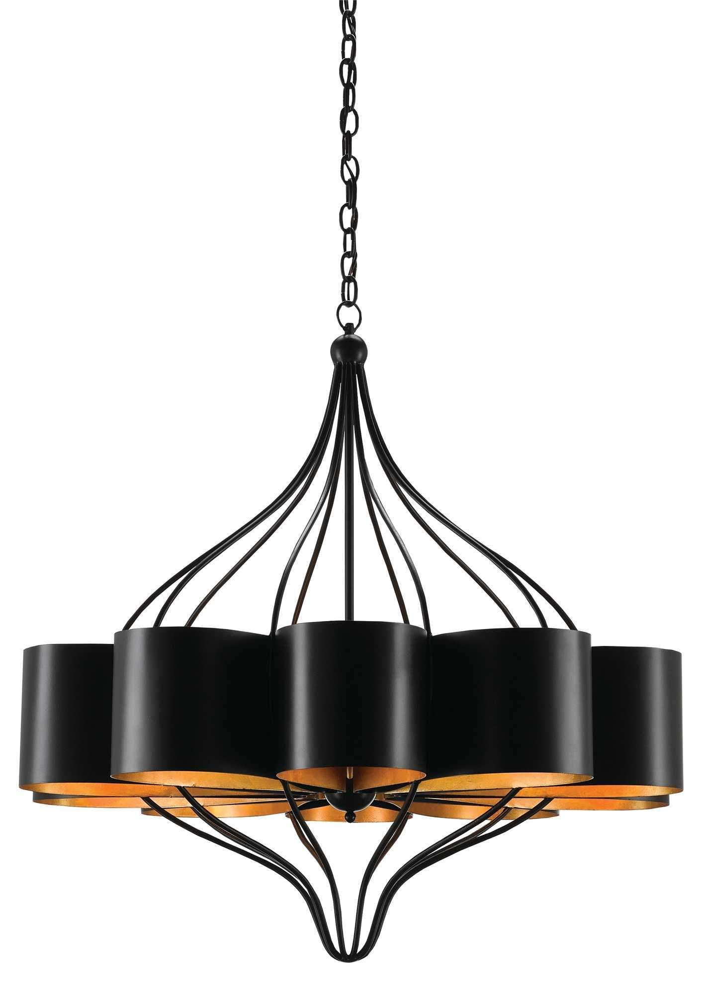 Currey And Company Marchfield Chandelier 9000 0261 Drum Shade Chandelier Chandelier Lighting Chandelier For Sale