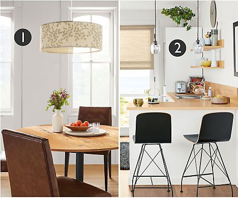 Learn How To Layer Lighting With Modern Table Lamps, Floor Lamps, Pendant  Lighting And