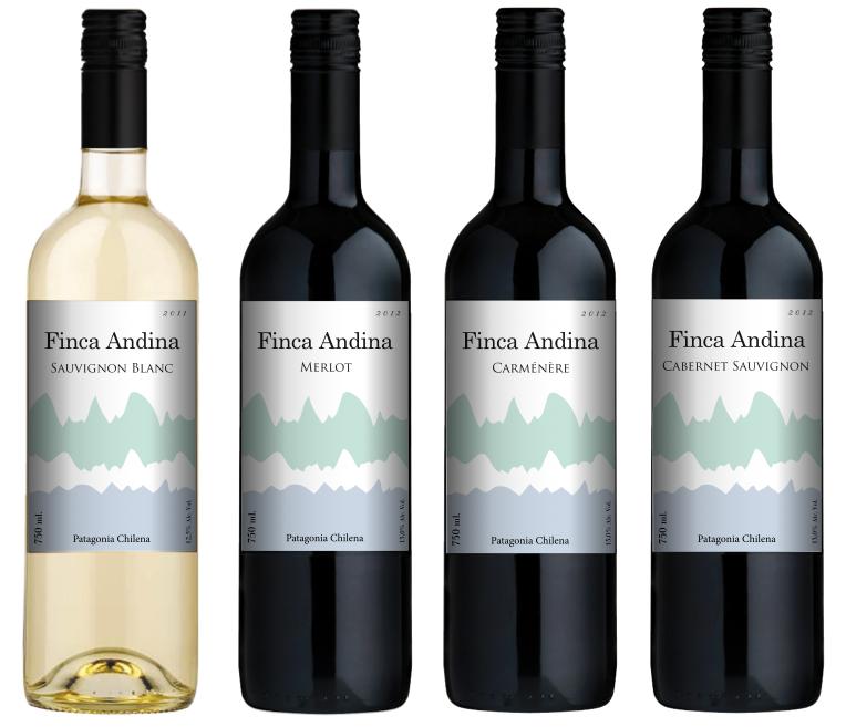 Finca Andina Varietal Wine Label Design