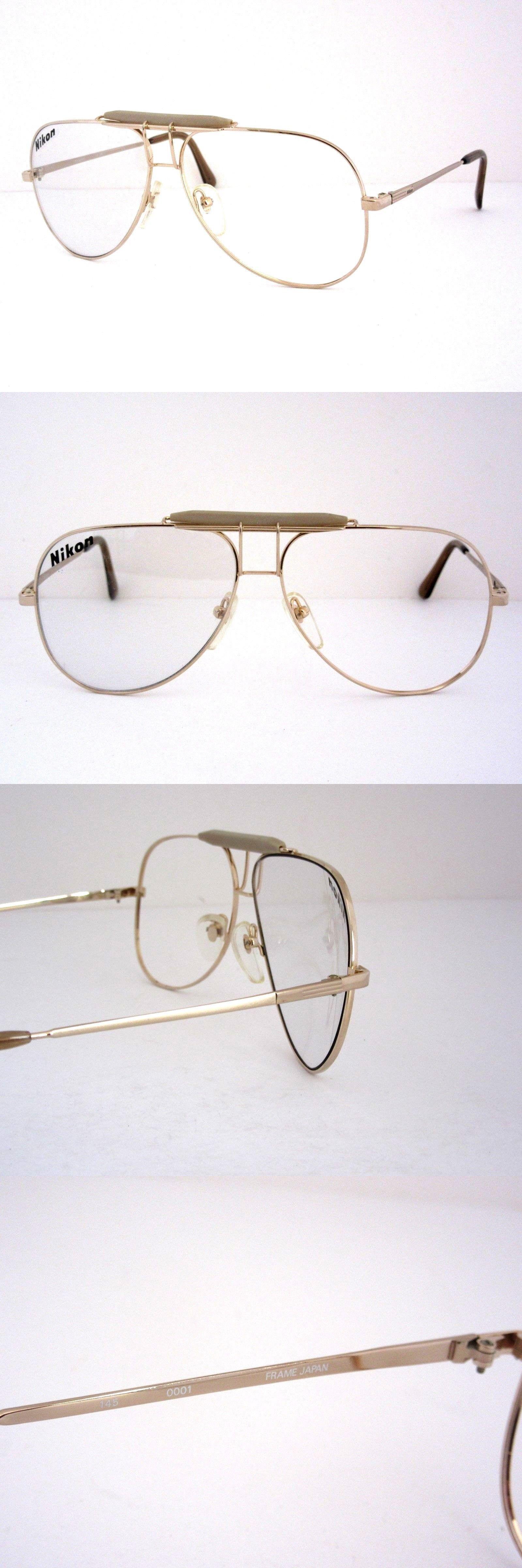 Eyeglasses 175805: Nikon Nk 5403 Men S Large Aviator Eyeglass Frames ...