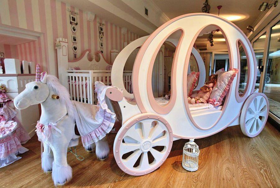 20 Meravigliose Camerette da Principessa Disney per Bambine | Pinterest