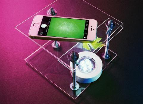 Mikroskop bauen: das smartphone mikroskop biounterricht
