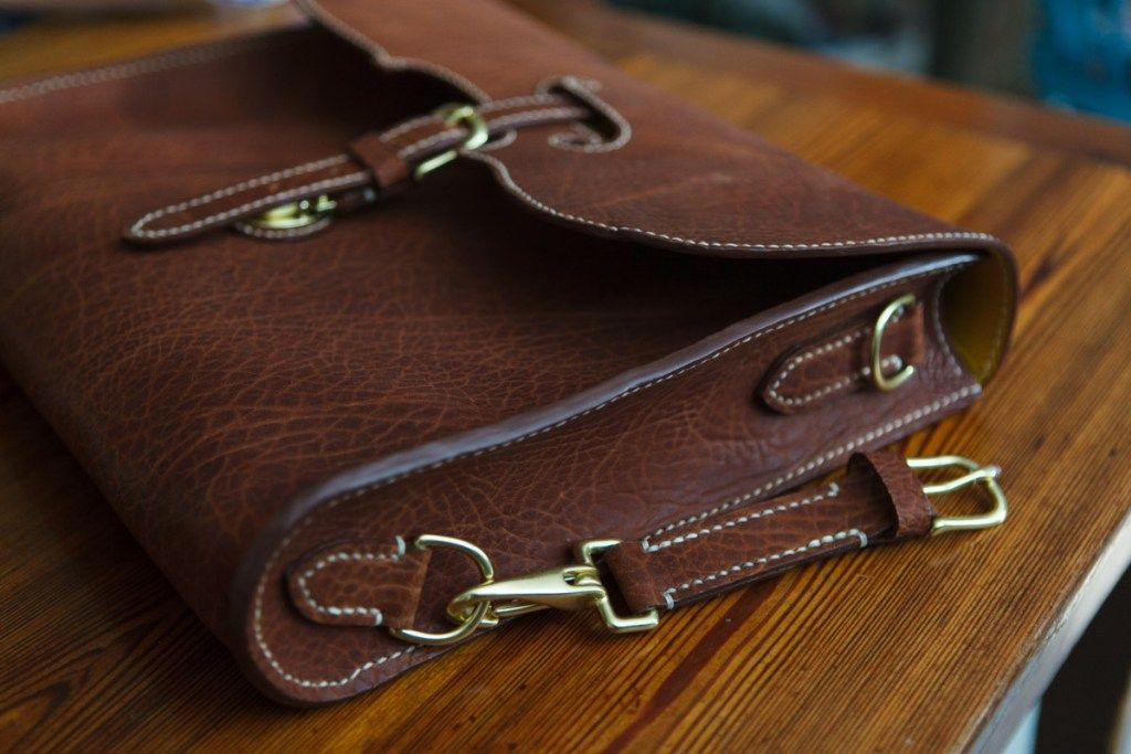 Horween apache custom knapsack, 3 – final – Jacobson Leather ...