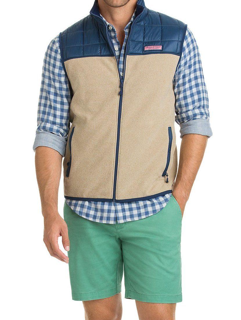 Jacquard fleece vest new arrivals pinterest fleece vest