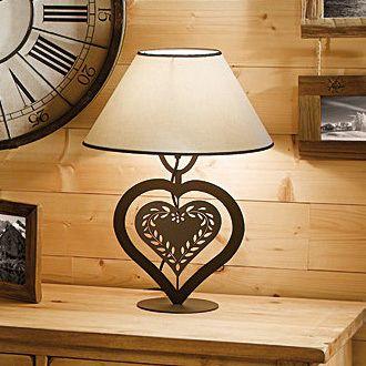 lampe coeur de savoie par couleurs d 39 int rieur luminaires pinterest. Black Bedroom Furniture Sets. Home Design Ideas