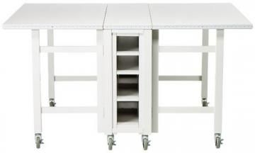 This would be terrific in the kitchen martha stewart living martha stewart living craft space collapsible craft table from home decorators watchthetrailerfo