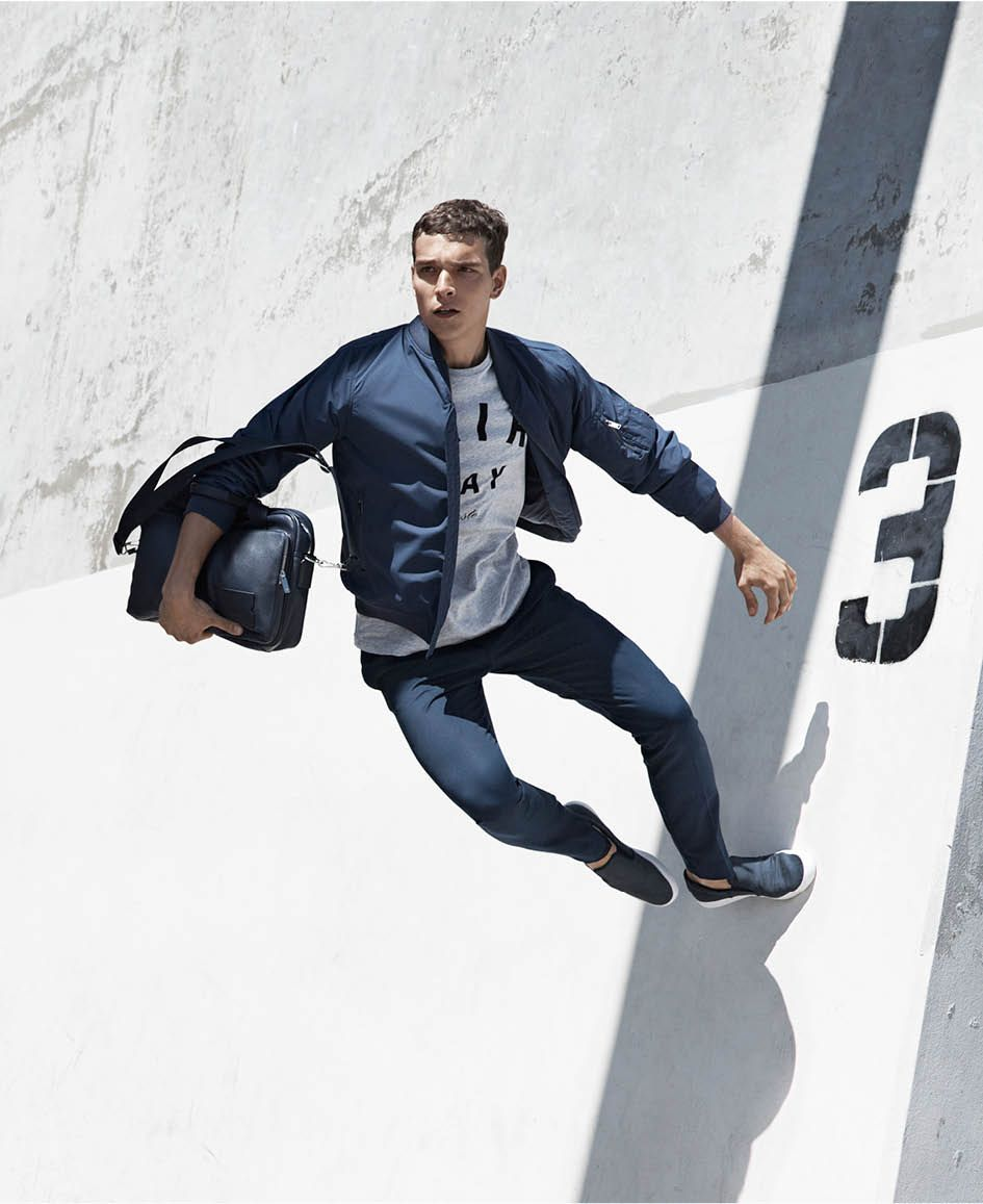41f83eb860 Sail Away menswear collection presents a new take on classic lines ...