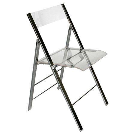 Found It At Wayfair Macbeth Acrylic Foldable Side Chair In Clear Set Of 2