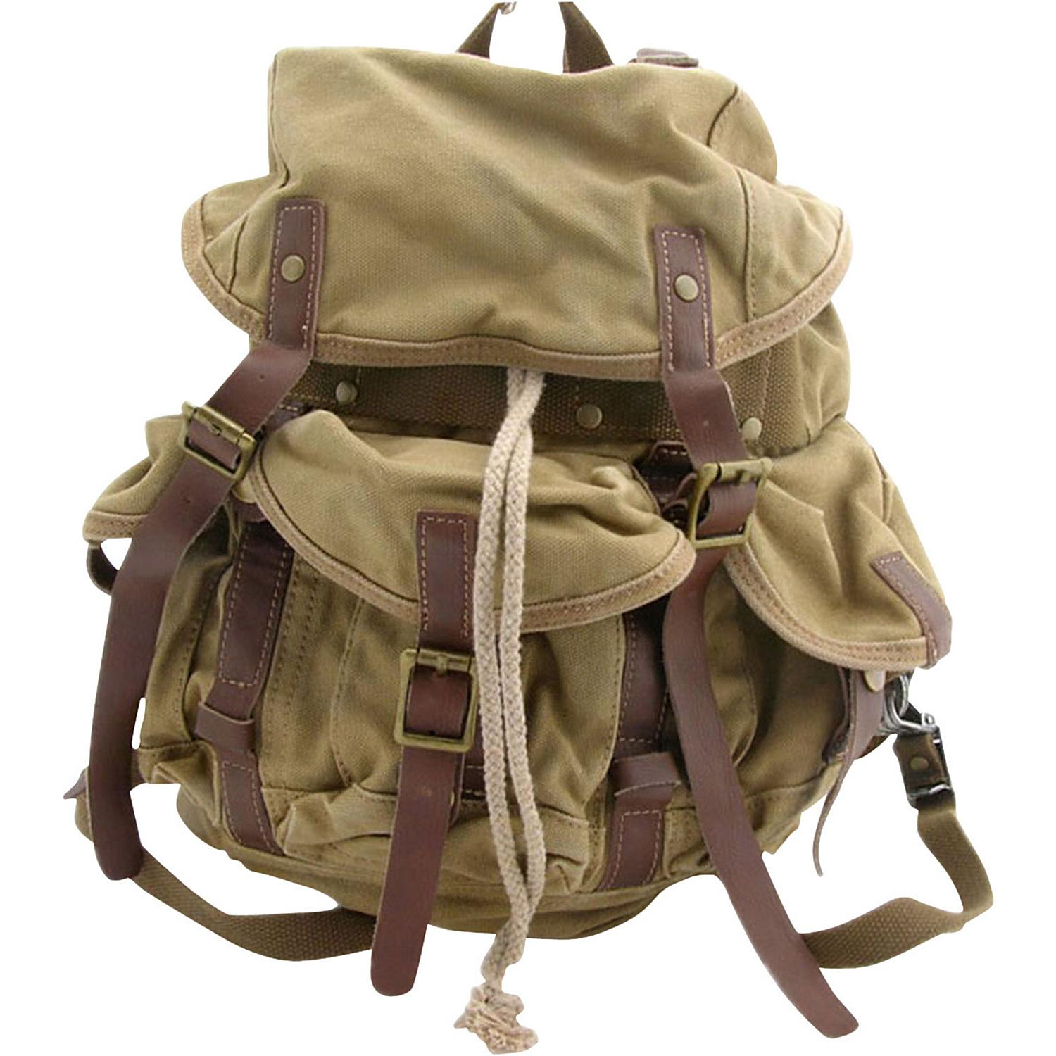Medium Cotton Canvas Backpack | Discover more ideas about Canvas ...