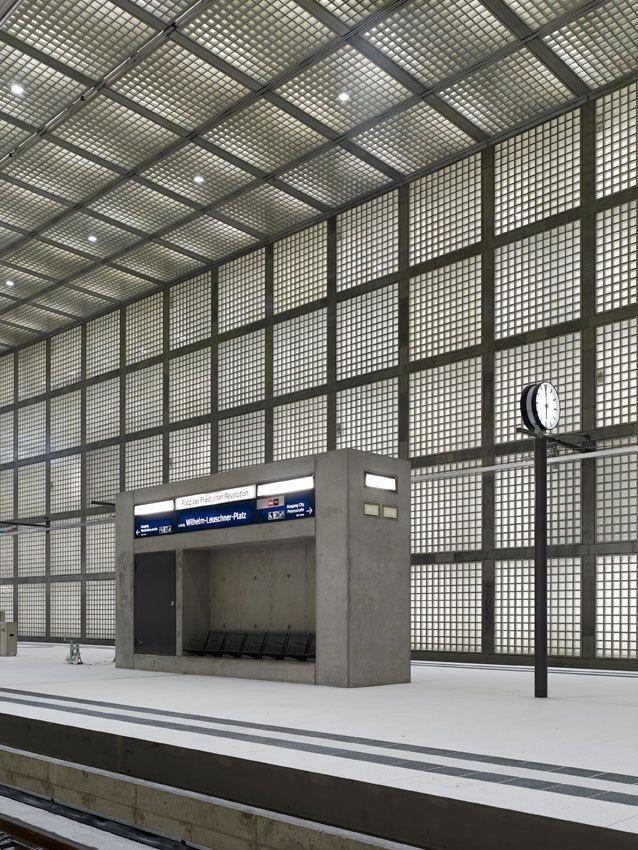 Wilhelm-leuschner-Platz station / MAX DUDLER ARCHITEKT