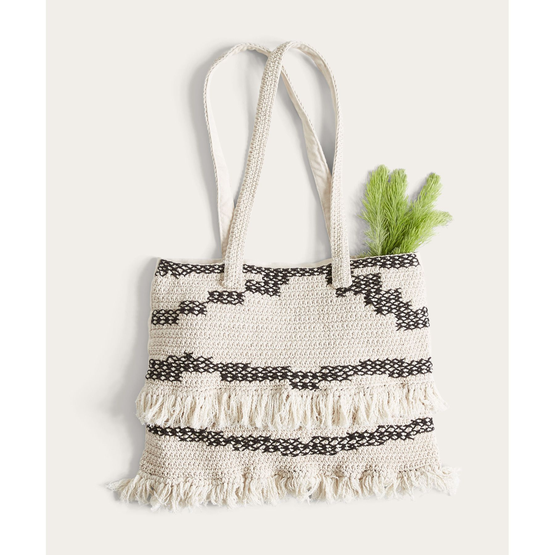 0a14a9d1c697 Get free shipping at the Billabong online store. Wander freely and curate  goods along the way with this bohemian tote.