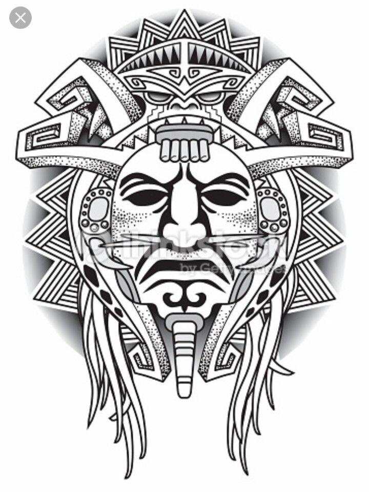 Colombian Tribal Tattoo : colombian, tribal, tattoo, Rosaria, Stevens, Colombian, Tribal, Tattoo, Tatuajes, Tribales, Aztecas,, Indigenas,, Símbolos, Aztecas
