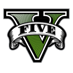 Gta V Five Logo V Only Png Icon Download Iconvert Icons Grand Theft Auto Gta Gta 5